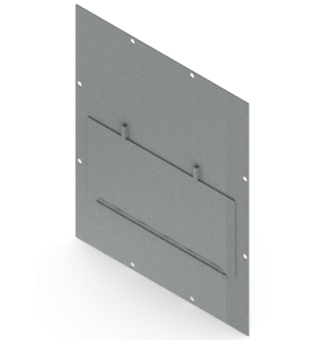 Ballistic Resistant Enclosure Window Shield