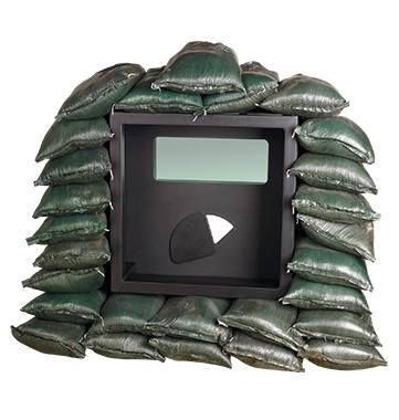 Sand Bag Window