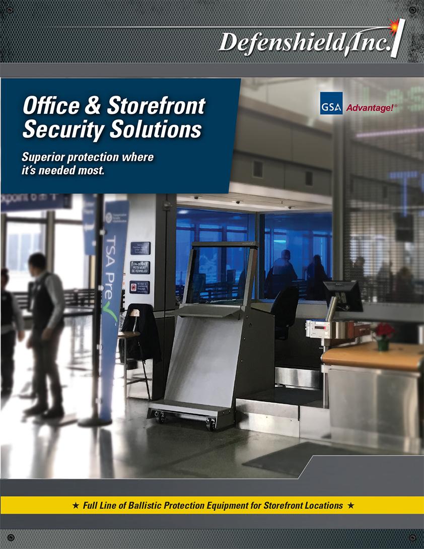 Defenshield Storefront Protection Brochure